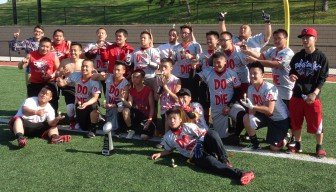 Minneapolis Do or Die, winners 2015 Farview Park Hmong flag football tournament. Congratulations