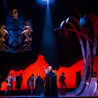 The touring production of Camelot.