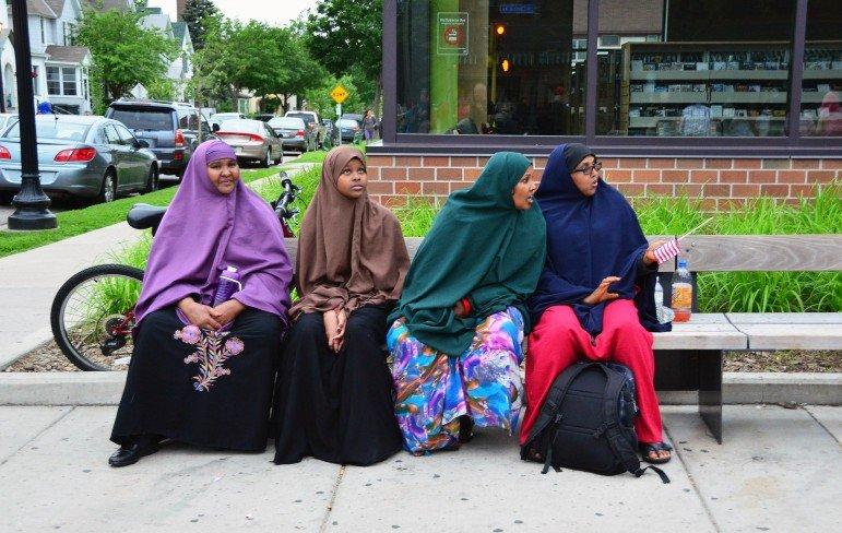 4 Somali women