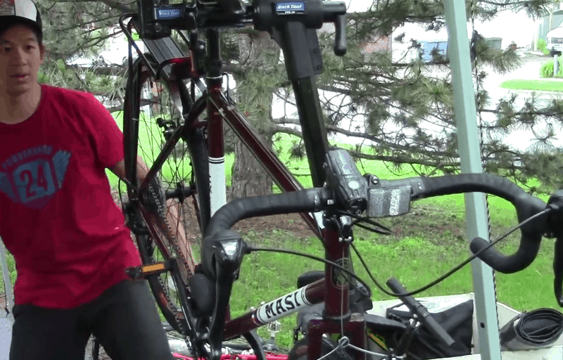Dave Huynh from Recovery Bikes gave tune-ups during the Northeast Ride