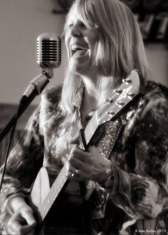 Julie Wiesenhorn b&w photo. Cattails, May 9, 2015