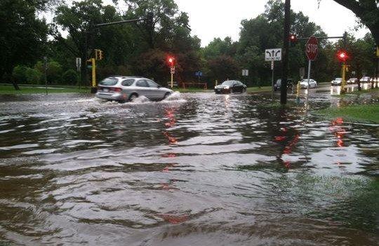 uptown flood