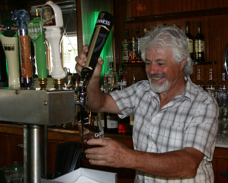 Dubliner Pub owner Tom Scanlon