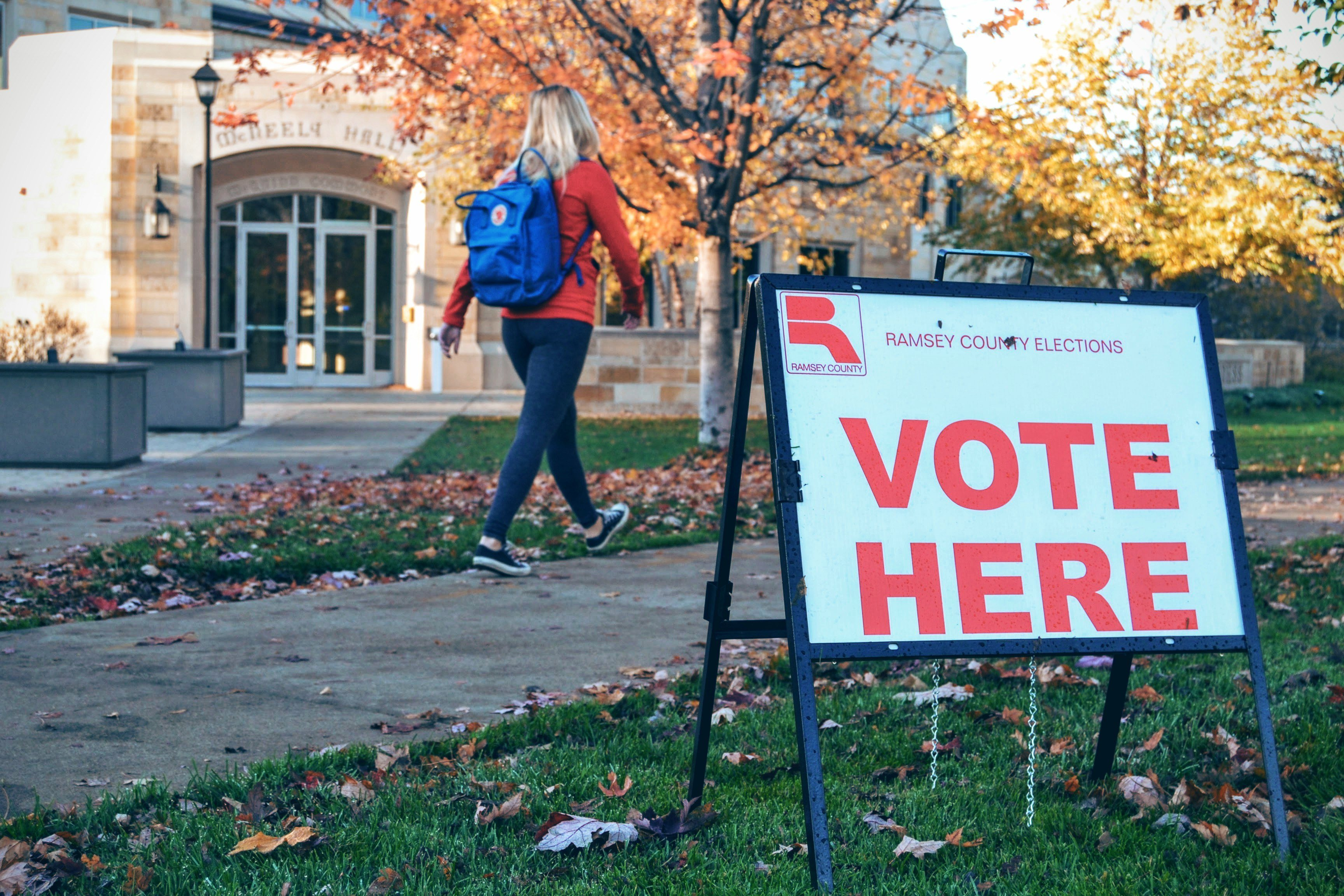 Election Day in St. Paul