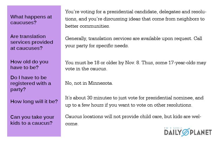 Caucus Info