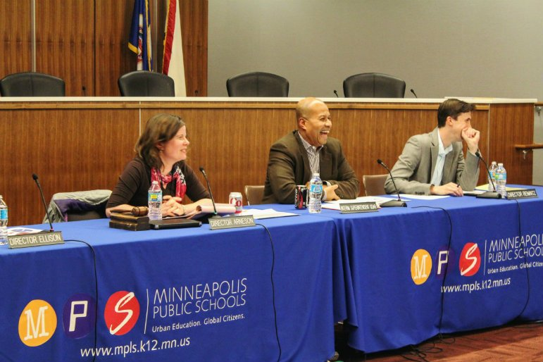 At its Jan. 26 committee meeting, the Minneapolis Public Schools Board of Education made two big announcements: Interim Superintendent Michael Goar was withdrawing his candidacy and that the board is researching a restart of the superintendent search.