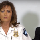 Chief Harteau and Mayor Hodges at the press conference. Photo courtesy of Jim Crow North.