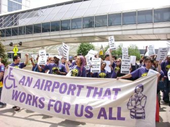 MSP workers win union after years of organizing. Photo courtesy of SEIU.