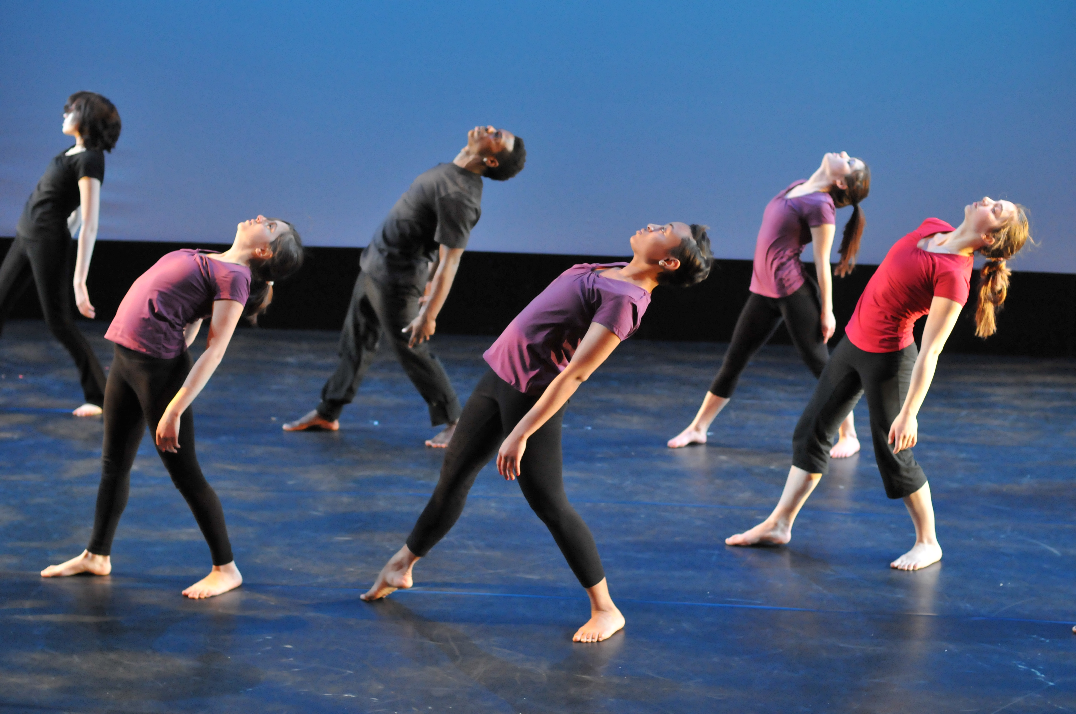 Perpich Center dance students (photo courtesy of Perpich Center for Arts Education)