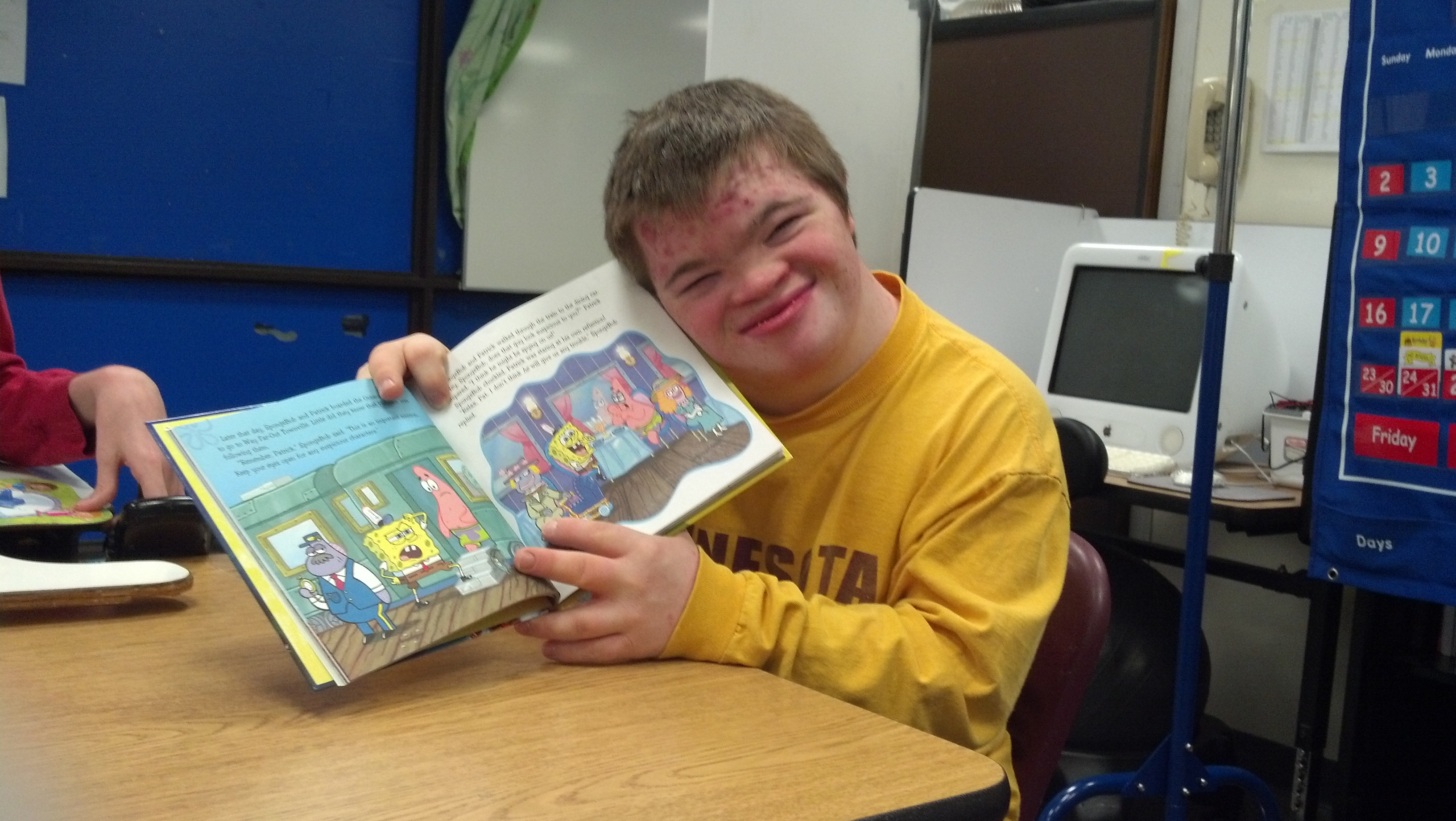 David Junwirth is a student at Bridge View (photo courtesy of Rachel Peulen)