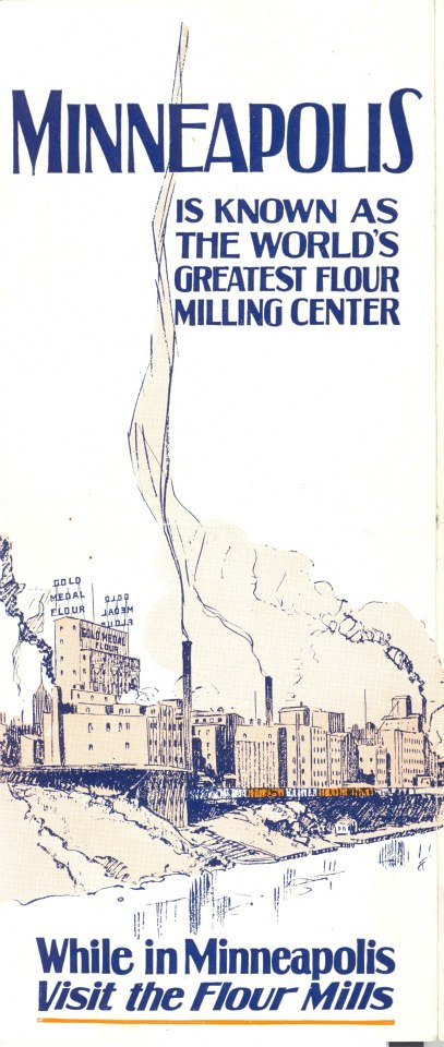 A 1920s tour brochure. Image courtesy Mill City Museum.
