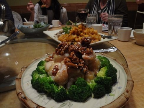 Pagoda's jumbo walnut shrimp