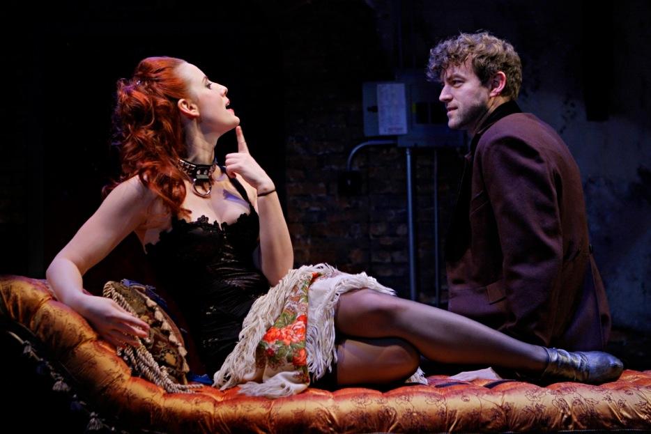 Anna Sundberg and Peter Christian Hansen in Venus in Fur. Photo by Michal Daniel, courtesy Jungle Theater.