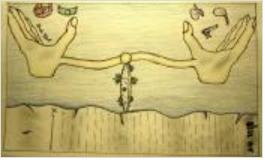 (Illustration by Raul Molina, Thomas Edison High School)