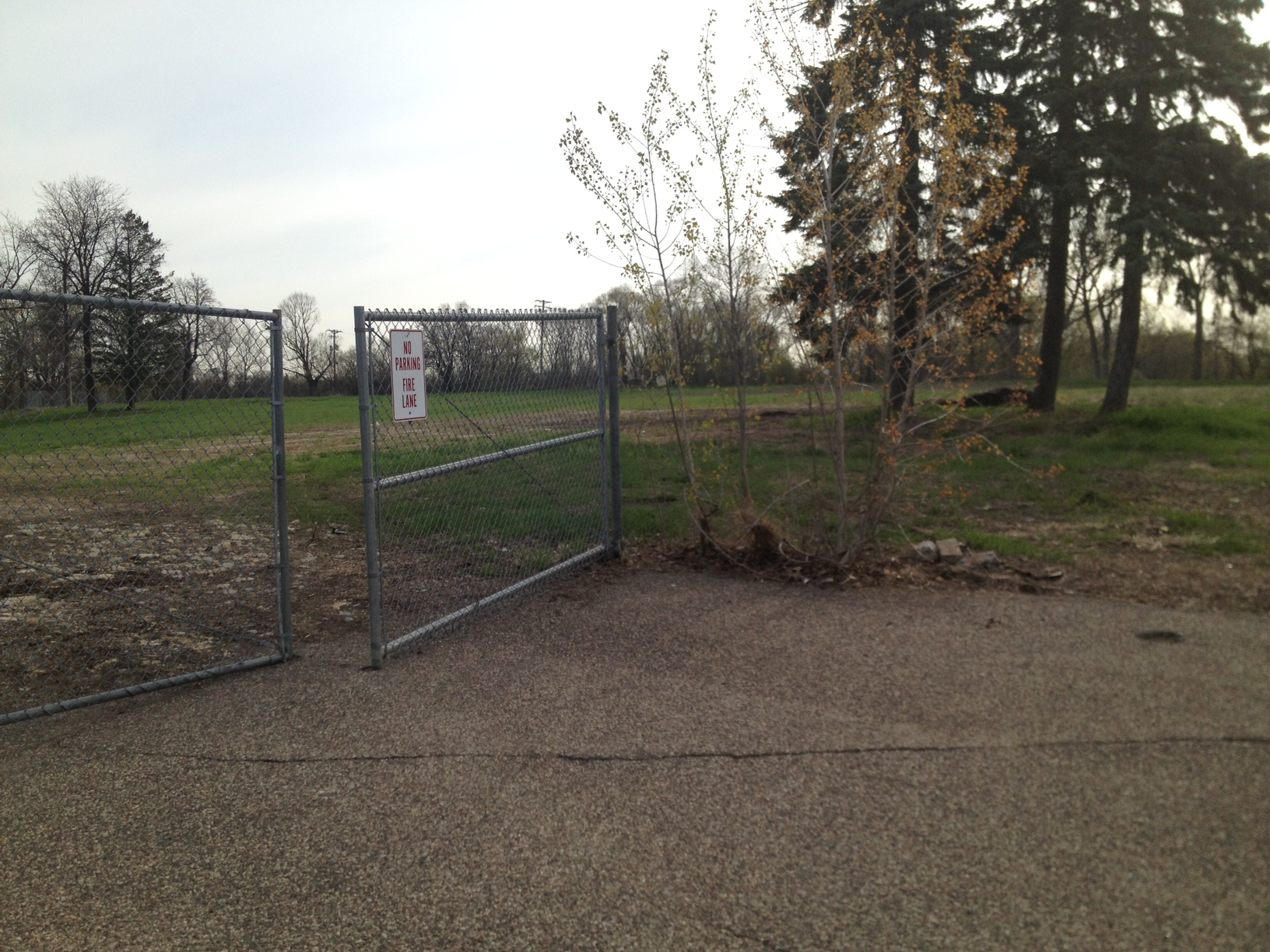The Frogtown Farm site.