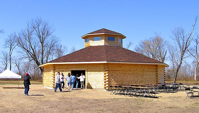 The Ojibwe Language and Culture Camp will be held at the Round House in Ponemah. (Red Lake Government and Public Relations)