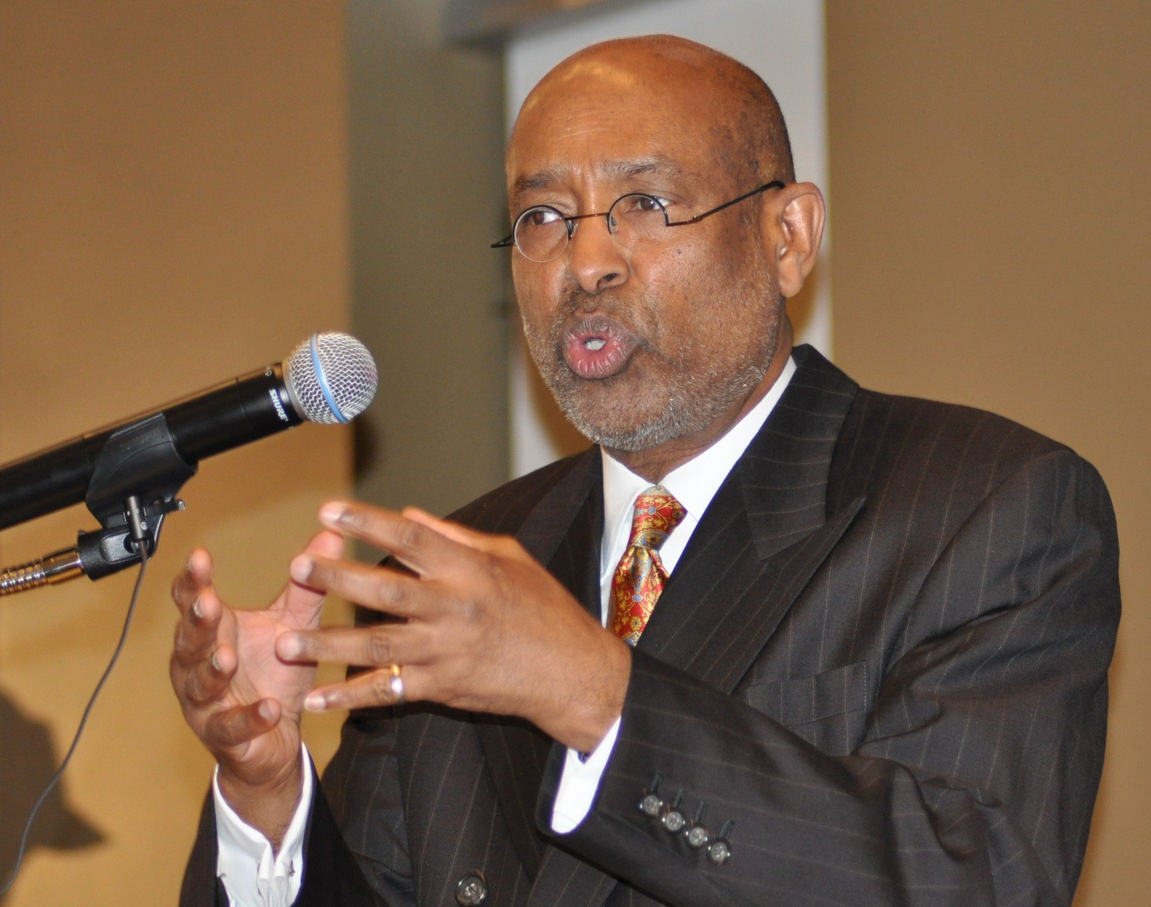 Dr. Ahmed Samatar (photo by Ibrahim Hirsi)