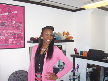 Tashawna Williams is owner of Divas In Motion. (Photos by Jamal Denman)