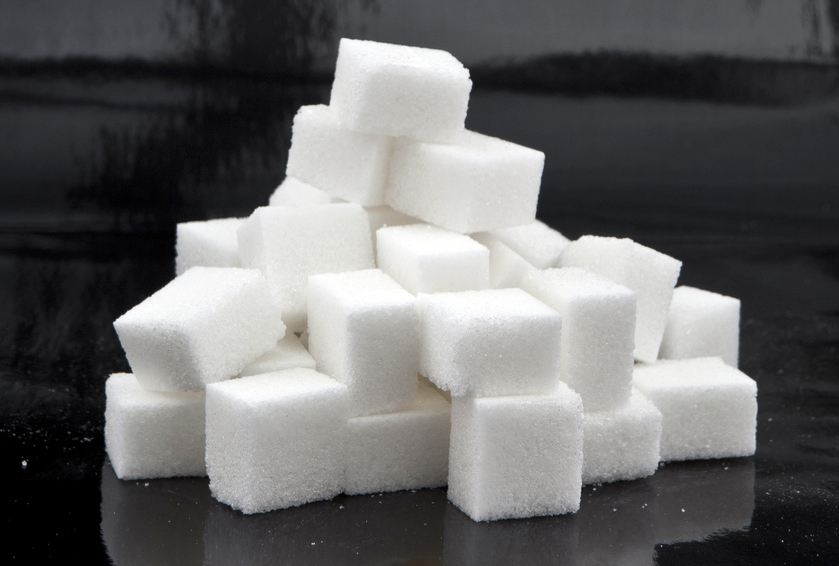 This is a photo of sugar cubes (by David Pacey, Creative Commons), not an artwork by Elizabeth Erin Fowler. To see one of those (NSFW), click here.