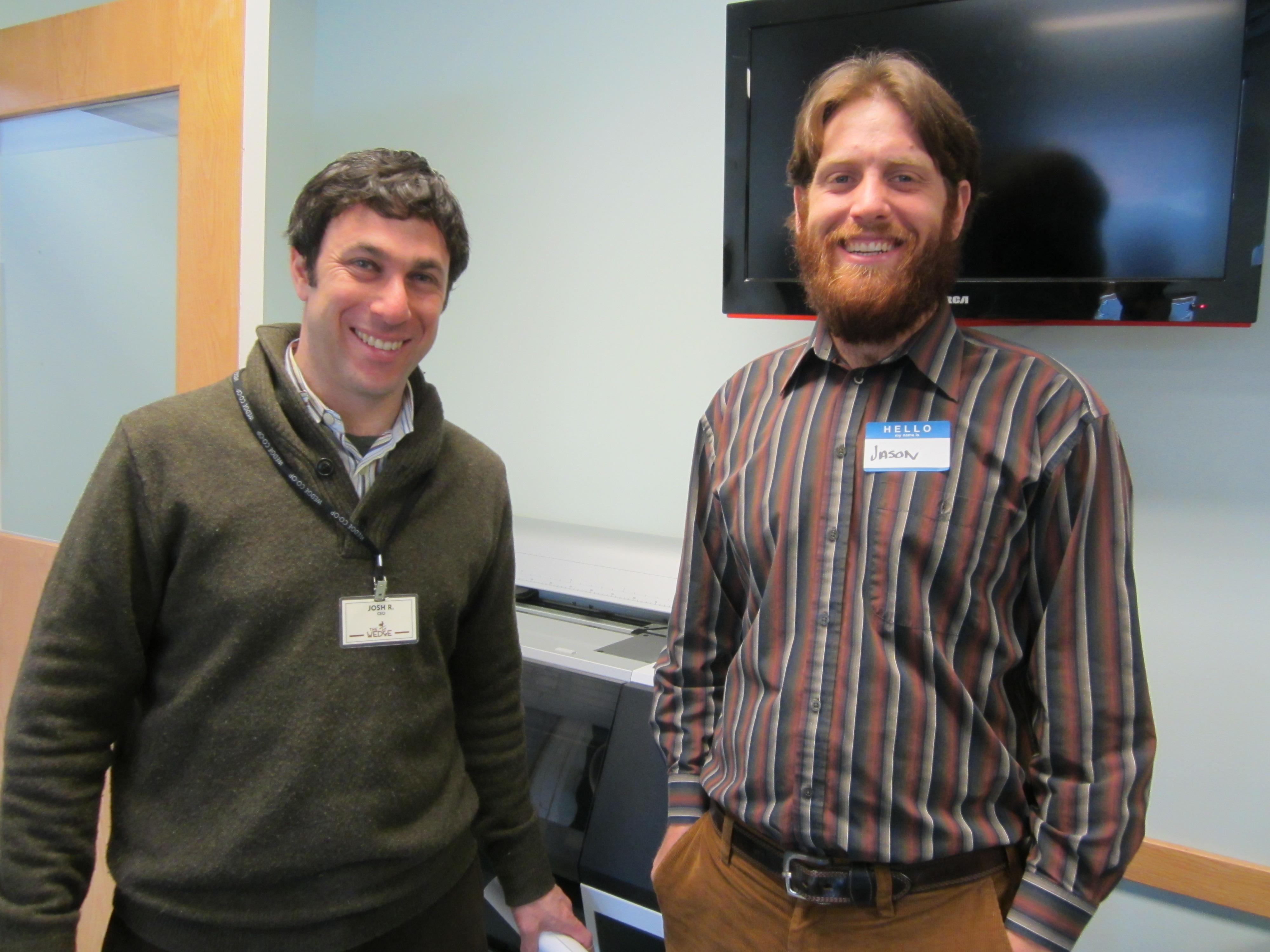 Wedge CEO Josh Resnik and Jason Tanzman, Cycles for Change
