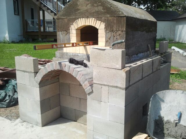 Outdoor Oven in The Phillips Neighborhood.