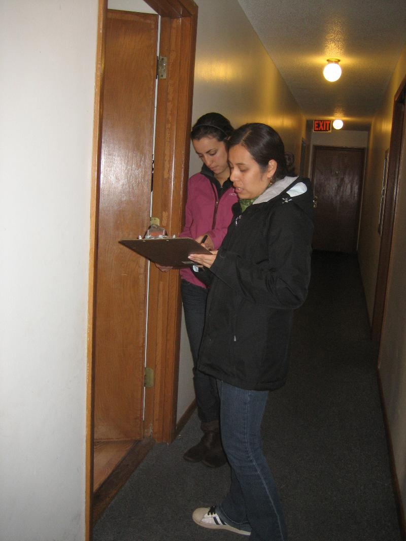 CNO door-knocked the Zorbalas apartments in late 2012.