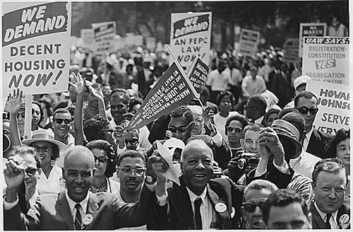 1963 March on Washingtonfor Jobs and Freedom Credit: Public Domain: 1963 March on Washington by USIA (NARA)
