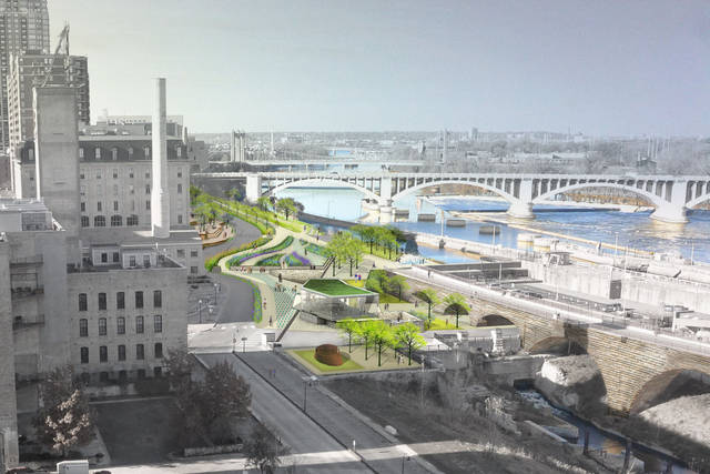 SCAPE Landscape Architecture designs new Mississippi waterfront parks. (Photo courtesy of SCAPE Landscape Architecture)