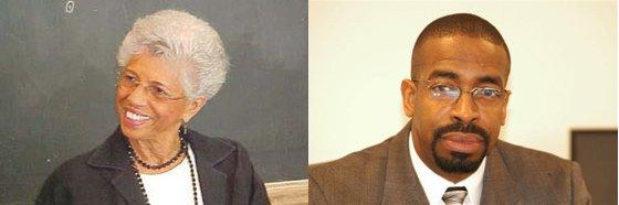 Left: Dr. Josie Johnson; Right: Eric Mahmoud