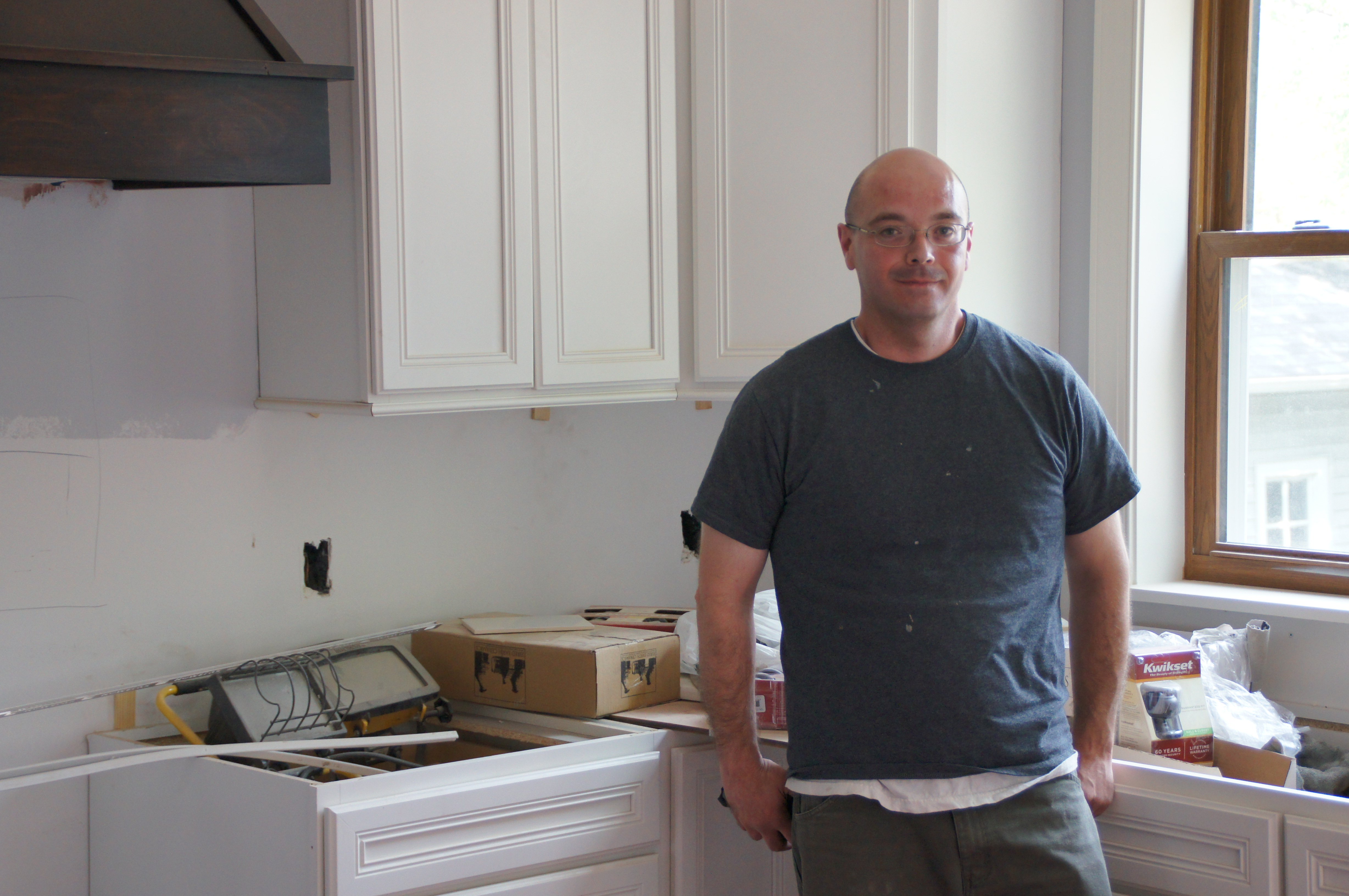 Vincent Lopez, who resides in the Powderhorn neighborhood at a new home he plumbed in St. Paul's Highland neighborhood. His business, Service Tech Plumbing, LLC is located in Brooklyn Park