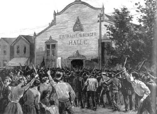 strikers_rally_homestead_1892