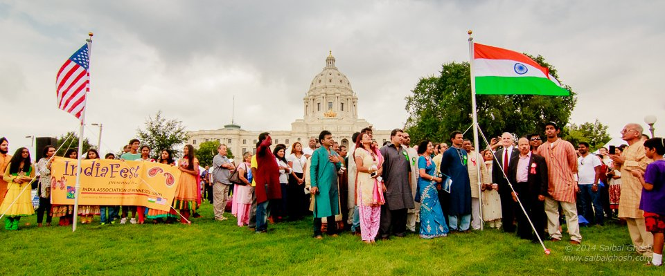 IndiaFest 2014, Hosted by India Association of MinnesotaAugust 16, 2014 SaturdaySt Paul Capital Grounds