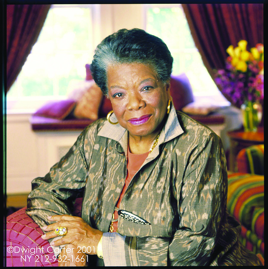 Dr. Maya Angelou (Photo by Dwight Carter)