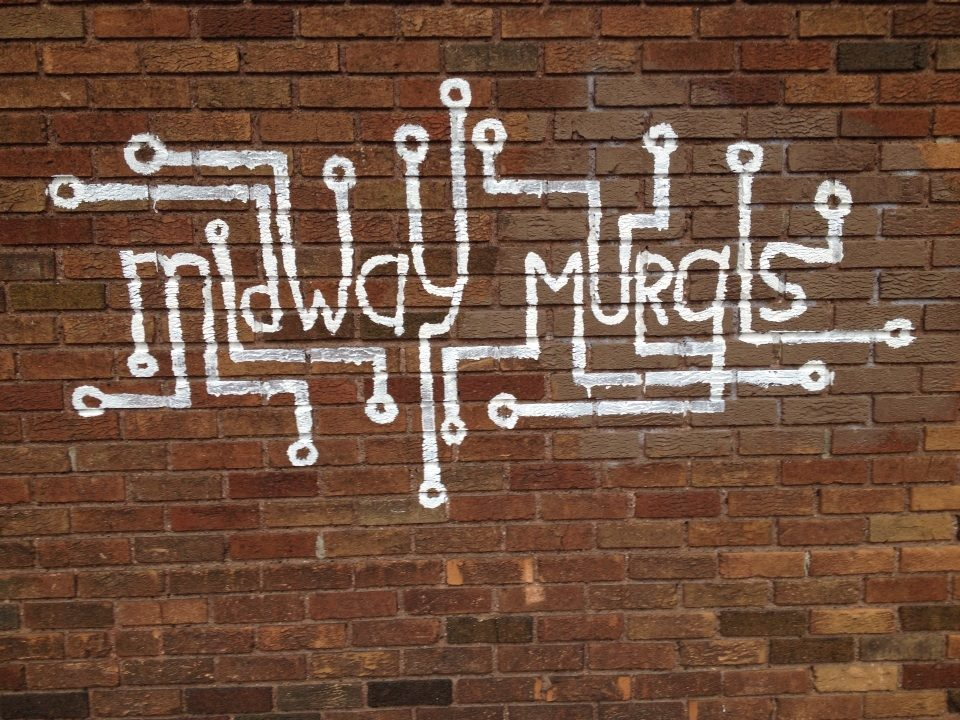 The Midway Murals logo