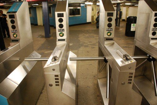 NYC turnstile. Image source: Planyourcity.net
