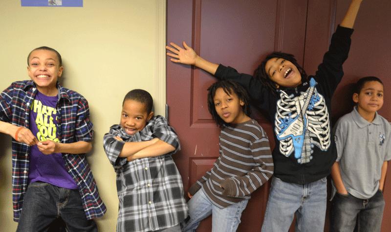 EMERGE kids celebrate
