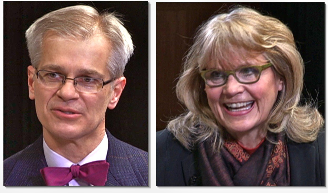 MN State Senator John Marty and author/comedian Lorna Landvik appear on the current edition of Democratic Visions.