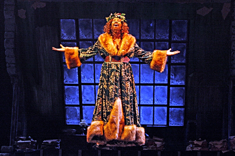 Ghost of Christmas Present A Christmas Carol Guthrie Theater