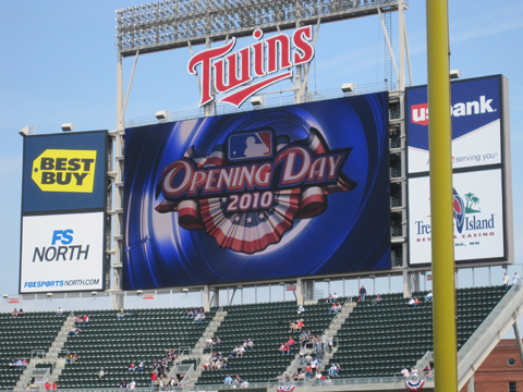 Minnesota Twins Opening Day