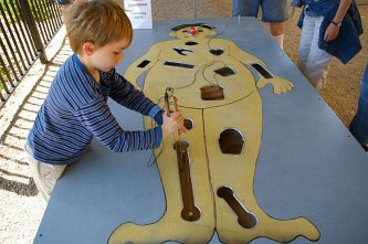Life-sized Operation game by TC Maker