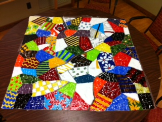 Hundreds volunteer to build community mosaic in for Group craft ideas for adults