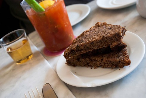Banana bread at Prune