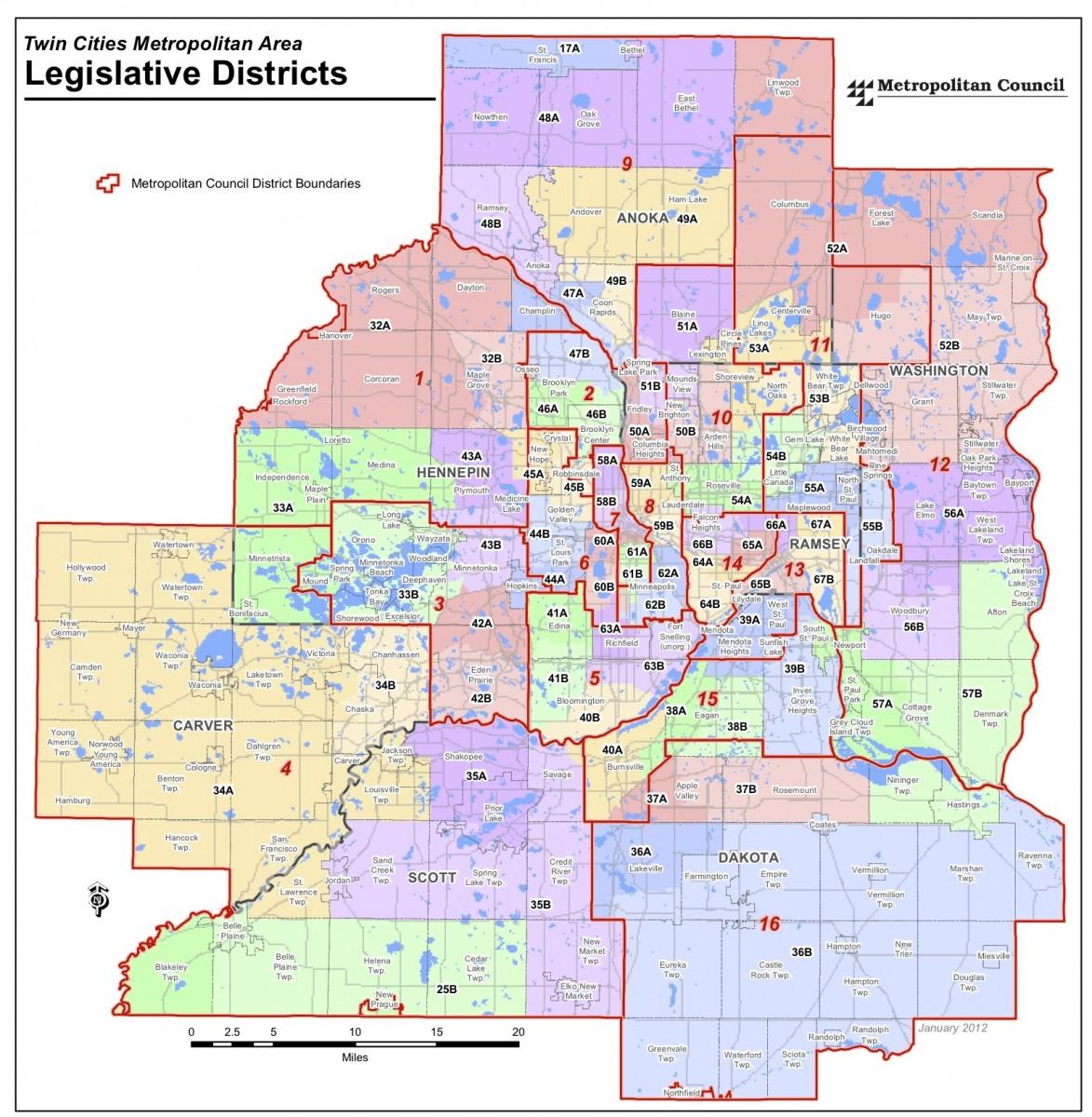 Legislature Elections  2012  7 County Metro Area