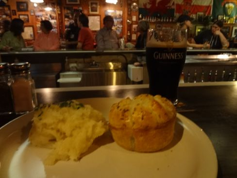 Merlin's pie and a pint