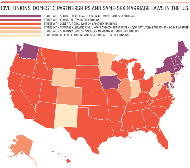 Law us sex same marriage