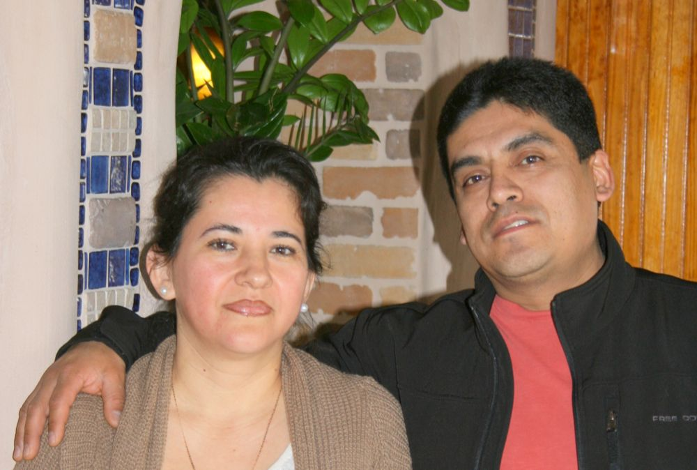 Lilia Zagal and Armando Ocampo, owners of Ocampo's restaurants and taquerias. (Photo by Bruce Johansen)