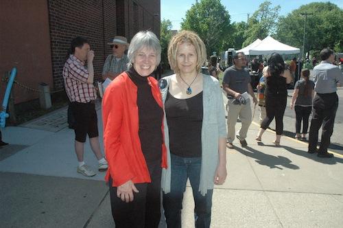 Karen Clark and Hannah Lieder