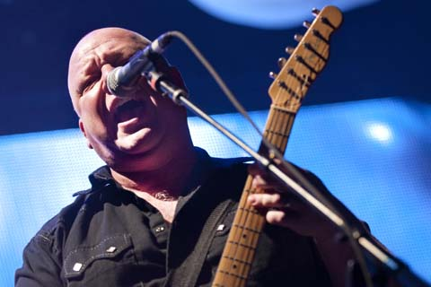 Frank Black of the Pixies. Photos by Stacy Schwartz.