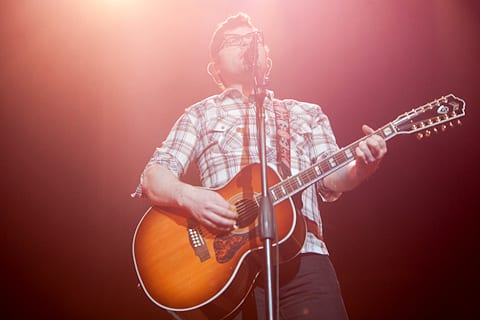 Colin Meloy of the Decemberists. Photos by Mandy Dwyer.