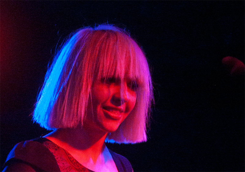 Ritzy Bryan of The Joy Formidable. Photos by Valerie Gallagher.